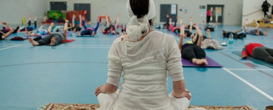 Galway first yoga festival pictures